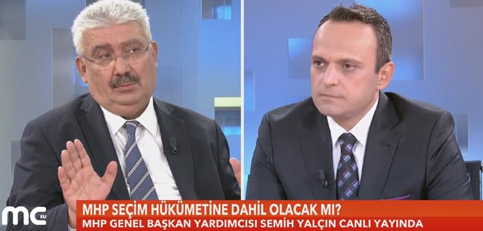 MHP Seçim Hükümetine Dahil Olacak mı?